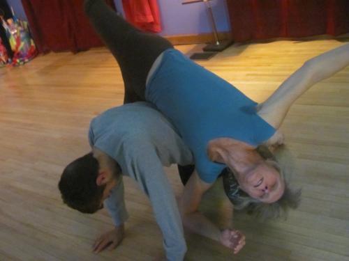 Contact Dance Workshop 2015