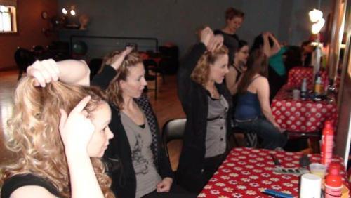 Pin Up Hair 2010