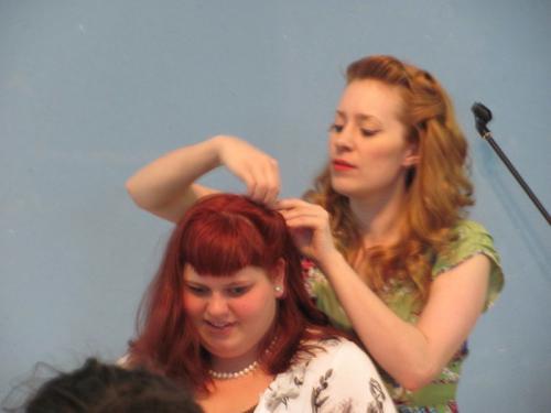 Pin Up Hair 2012