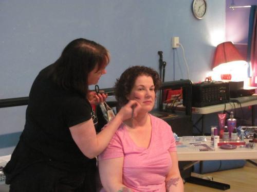 Stage Makeup Workshop 2014